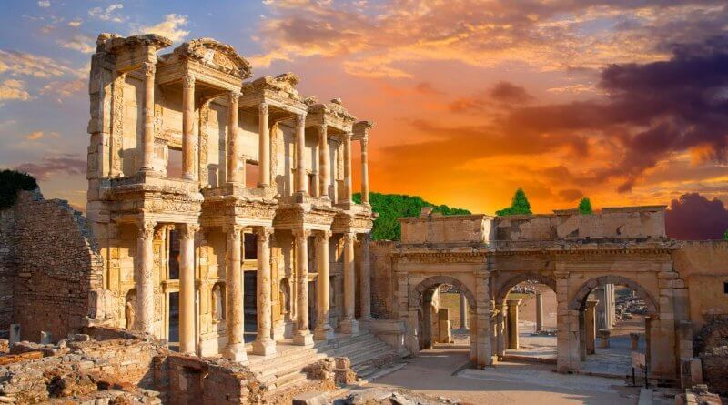 Image result for Thành phố cổ đại Ephesus